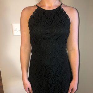 Altar'd State Black Lace Dress